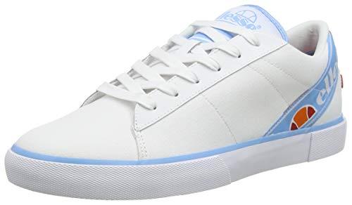 Ellesse Massimo, Chaussures de Fitness Homme, Multicolore (White/Alaskan Blue 000), 43 EU