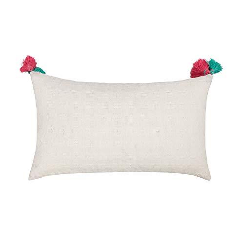 Federa cuscino Federa abbraccio nappa stile marocchino 1, 2 pezzi Federa in vita federa quadrata coreless stile etnico boemo
