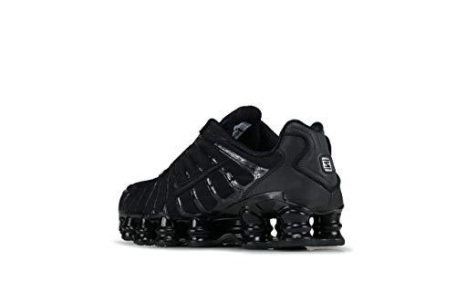 Nike Shox Tl Mens Bv1127-001 Size 6 Black/Black/Black
