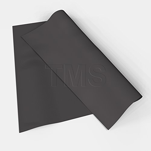TMS Mass Loaded Vinyl, 4' x 4' (16 sf) 1 Lb MLV Soundproofing Barrier. Highest Quality! Made in the USA