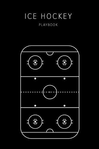 Ice Hockey Playbook: Coaching Record Book for Tracking progress, planning strategies or tactics