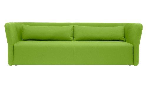 Schlafsofa CARMEN - 144x200cm - Sofa mit Schlaffunktion - Grün
