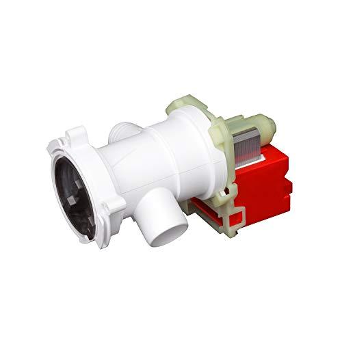 MIRTUX Bomba de Desagüe Lavadora Fagor, Aspes, Edesa, Brandt, Mastercook, Thomson. Bomba lavadora Copreci EBS-2556-3307 con Protector Térmico. Código de recambio: L71D002IO