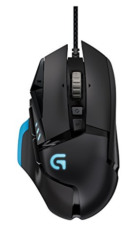 Logitech Proteus Core G502 Tunable Gaming Maus