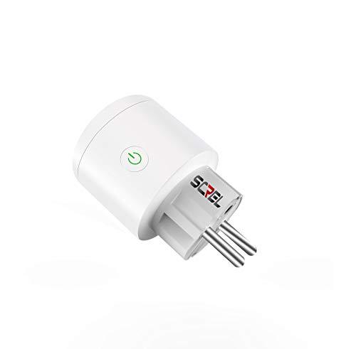 SCREL Smart Steckdose WiFi kompatibel mit Alexa/Google Home/Android/iOS Remote Management App auf Französisch.