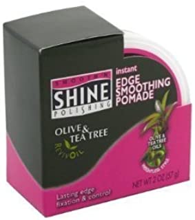 Smooth N Shine Olive and Tea Tree Edge Smoothing Pomade 2 oz. by Smooth N Shine