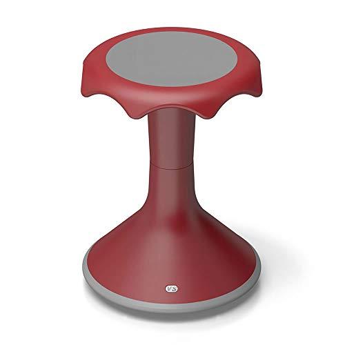 Hokki VS America Stool Flexible Ergonomic Seating - 18' Red