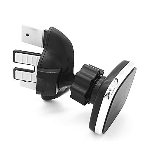 KDABJD Soporte magnético para teléfono de coche, soporte magnético para coche, ranura para CD, soporte de ventilación de aire, soporte ajustable para teléfono móvil
