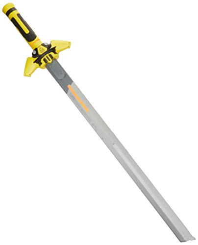 NERF Thunder Fury N-Force Toy Sword -- Foam Blade with Plastic Core -- 31.5 in. (80cm) Long -- for Kids Teens, Adults (Yellow) (Amazon Exclusive)