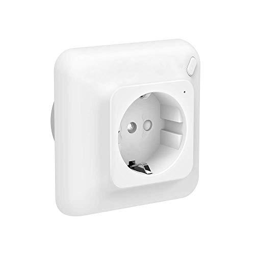 WIFI Presa Intelligente, Smart Plug Compatibile con Alexa e Google Home, Presa smart Controllato In Remoto, Senza Hub Può, Essere Supporta Solo la Rete a 2.4 GHz