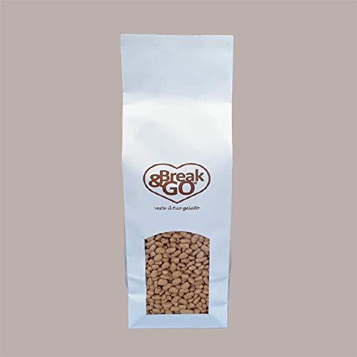 Lucgel Srl 500 gr Arroz Integral Inflado y Caramelizado para Postres Helados Yogur Pastelería