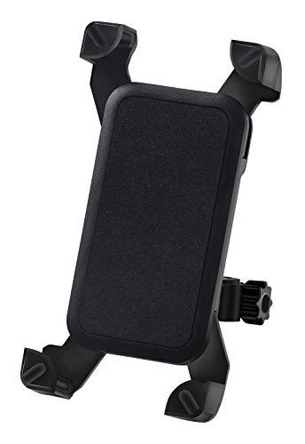 自転車 スマホホルダー バイク すまほスタンド 360度回転 伸縮アーム 携帯ホルダー 振れ止め 脱落防止 GPSナビ 最大7インチ(長さ115~180mm 幅58~90mm) iPhone/Huawei/Samsung/SONY多機種スマホ対応 ロードバイク・オートバイ・自転車 固定用 取り付け簡単 強力な保護