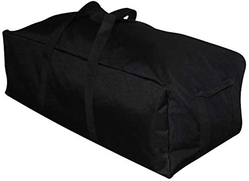 Bolsas de viaje para bicicleta Mochilas para deportes al aire libre con cremallera ligera de gran tamaño durable negro 50L 100L 150L (150L)