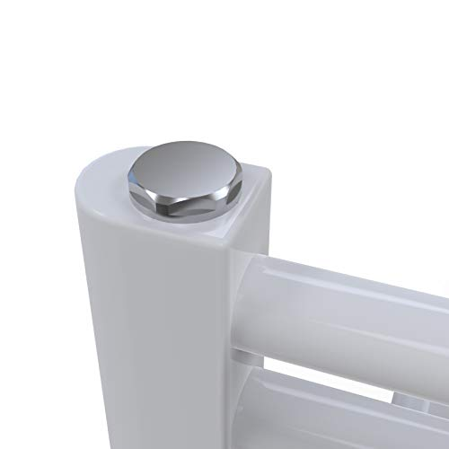 SONNI Handtuchheizkörper Bad Mittelanschluss Handtuchwärmer Badheizkörper Weiß Gerade 60*120cm - 3