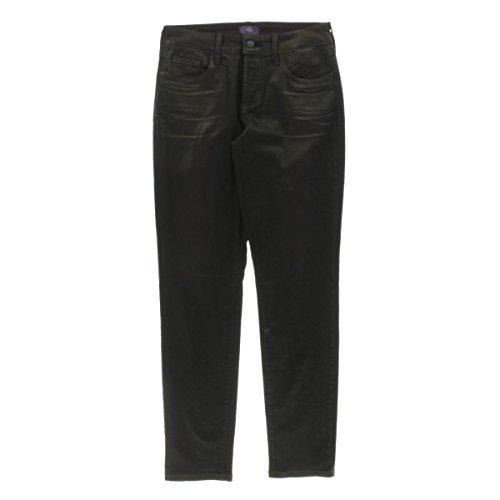 NYDJ Bronze Coated Legging Petite Not Your Daughters Jeans Pants (10P)
