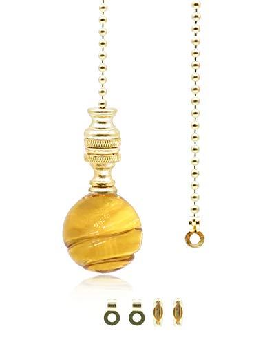 Interruptor de cadena de luz de bola de cristal amarillo,Cordón de luz...
