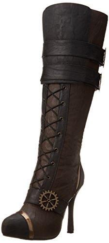 Ellie Shoes Women's 420 Quinley Boot, Brown, 10 M US