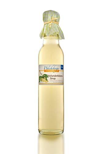 Weichsberger Manufaktur Allgäuer Holunderblüten-Sirup 250 ml