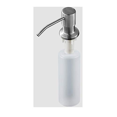 MKVRS Soap Dispensers Kitchen Sink Soap Dispenser Brass Countertop Liquid Dish Lotion Dispenser Pump 250ML/8.4OZ Soap Bottle Built In Hand Sink Pump Lotion&Soap Dispensers (Color : Soap dispenser A)