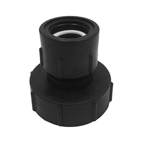 B Blesiya 1000L IBC - Adaptador para depósito de Agua, 1,5 Zoll