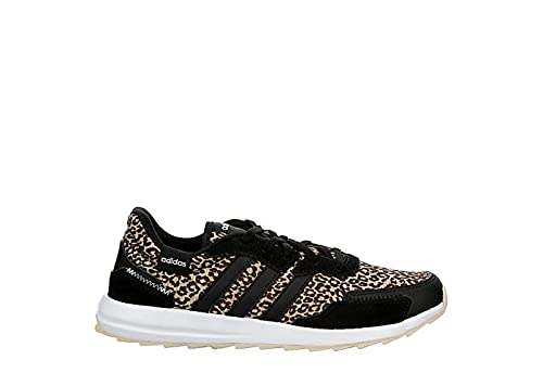adidas Womens Retrorun Sneaker Sneakers, Black, 7.5 M