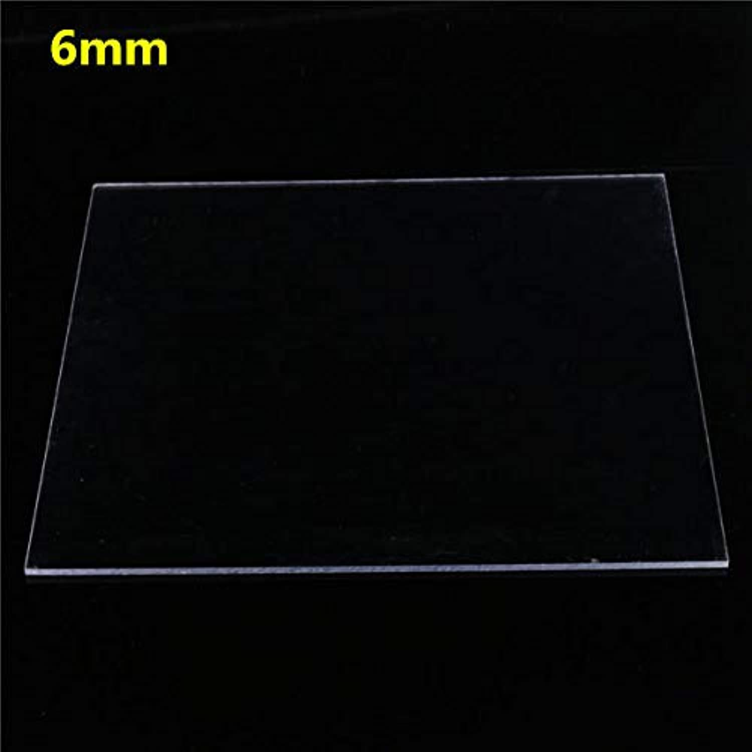 Anddod 500×500mm Clear Polycarbonate Panel Cutting Carving Plate 28mm  6mm