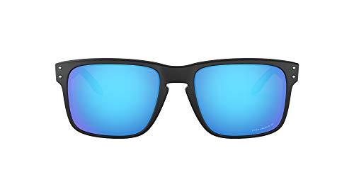 Oakley Holbrook 9102f0 Occhiali da sole, Multicolore (Matte Black), 57 Uomo