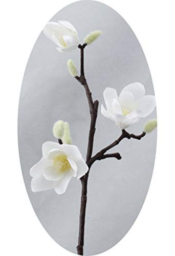 3D Silk Magnolia Branch Artificial Flowers Fake Flower for Wedding Decorate Home Decoration Party Accessory