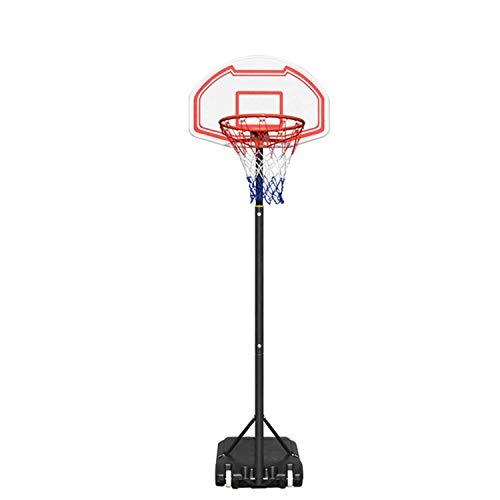 XinC Soporte de Baloncesto para niños, Baloncesto portátil Ajustable, con Juego de Juegos de Juego de Juego Deportivo Ajustable para Exteriores de Neta y Bola, Unisex-Juventud de Baloncesto.