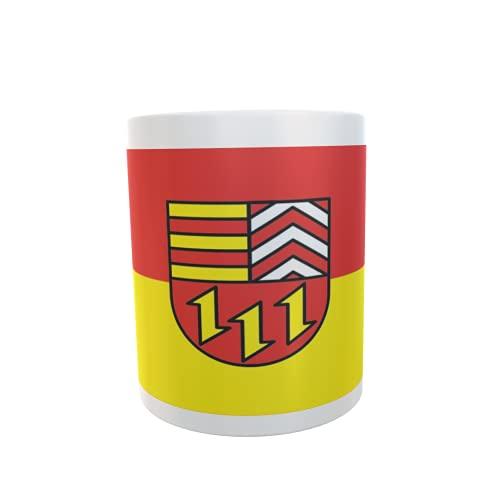 U24 Tasse Kaffeebecher Mug Cup Flagge Landkreis Vechta