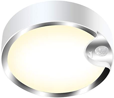Motion Sensor Ceiling Light Battery Operated Yurnero 80 LED Ultra Bright Motion Activated Indoor product image