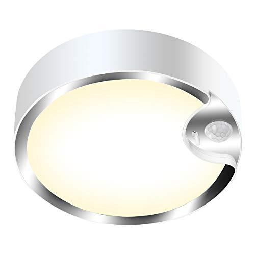 Yurnero Deckenleuchte mit Bewegungsmelder, 80 LEDs, batteriebetrieben