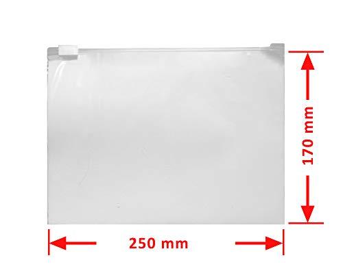 Gleitverschlussbeutel 60 m/µ Zip Verschlussbeutel Polybeutel Beutel Set mit 2 Gr/ö/ßen von Anstore Zip Lock Bags 200 x Druckverschlussbeutel Schnellverschlu/ß T/üten