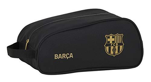 Zapatillero Safta Ovalado Multiusos de F.C. Barcelona 2ª Equip. 20/21, negro, 340x180x150mm