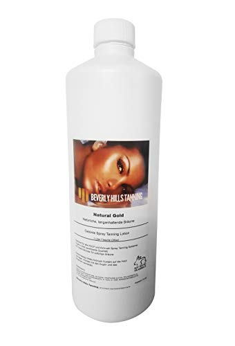 Airbrush Tanning Lotion (BHT Tanning Lotion Gold 6%-6.5%)