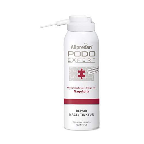 Allpresan Podoexpert Repair Nagel-Tinktur, therapiebegleitende Pflege bei Fußpilz, 125 ml