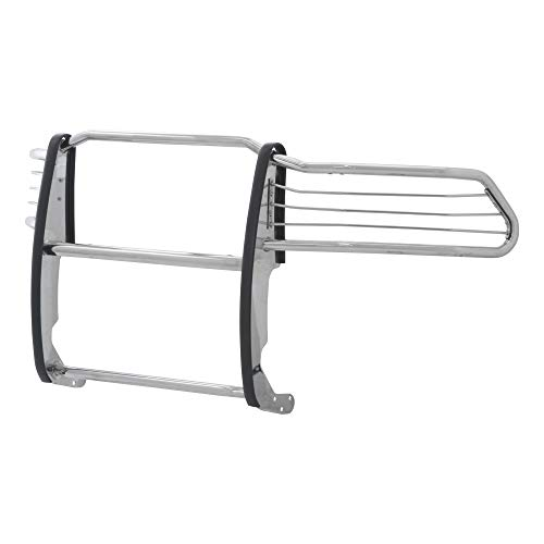 ARIES 5058-2 1-1/2-Inch Polished Stainless Steel Grille Guard, No-Drill, Select Dodge, Ram 1500