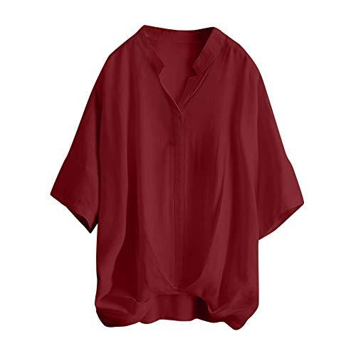 Femmes Enceinte Tops T-Shirt Blouse, Manche Longue Double Couche Blouse Grande Taille Allaitement Maternité T-Shirt Pullover Blouse Grossesse Doux Chemisier Haut d'allaitement Hauts