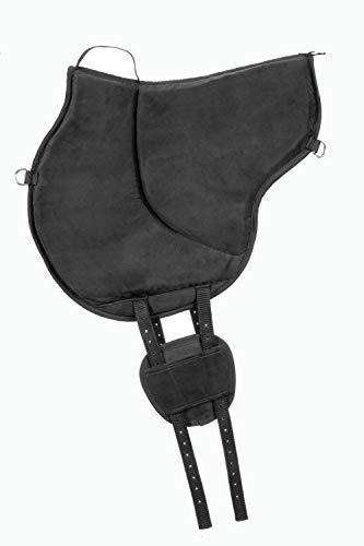 USG Reitkissen Bareback, schwarz, schwarz, one Size