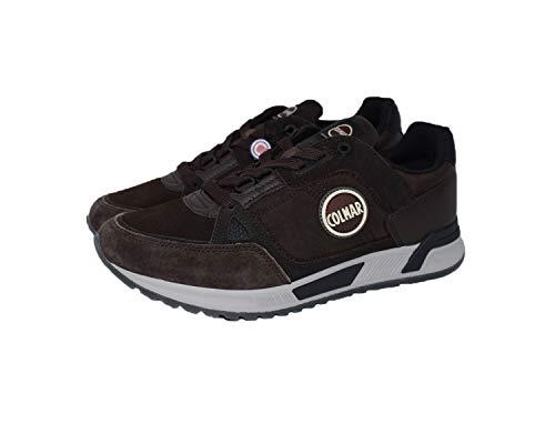Colmar Originals Suprem 037 Sneakers Uomo Marrone, 45, Marrone