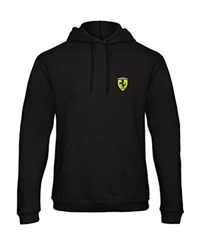 Ferrari Auto Fun Bestickte Logo Kapuzenpullover Premium Qualität - 7080 (M)