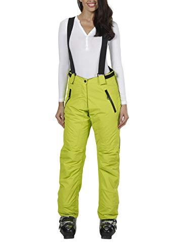 Fifty Five Skihose Damen Grün 40 Regina Warme Snowboardhose Winddicht Wasserdicht