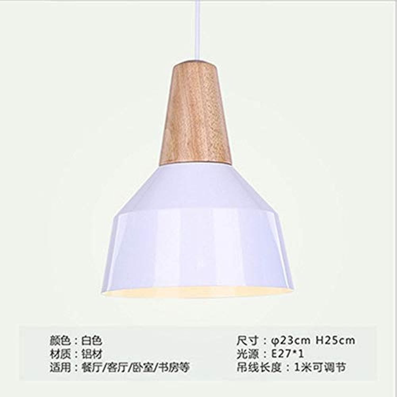 Xiaoxiao666 Persnlichkeitskorridor-Studien-Tabellen-Leuchterbeleuchtung des Modernen Unbedeutenden Macaron Massivholzes des Kronleuchers Kreative, EIN Wei