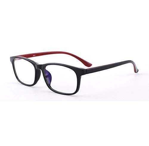 El bloqueo de gafas de lectura, gafas de iones negativos imán, gafas anti-reflejos for reducir la fatiga ocular luz azul de alta definición, 1,5 2,0 2,5 1,0 3,0 3,5 4,0 ( Color : Red , Size : +3.5X )