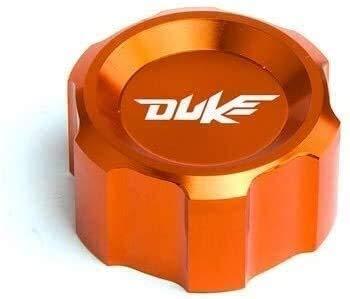 Estilo durable de motos Accesorios Duque 125 200 390 2018 Nuevo elemento de la motocicleta CNC de aluminio Tapa del radiador del tubo de agua for KTM Duke 125 200 Duke Duke Duke 390 Fácil de instalar