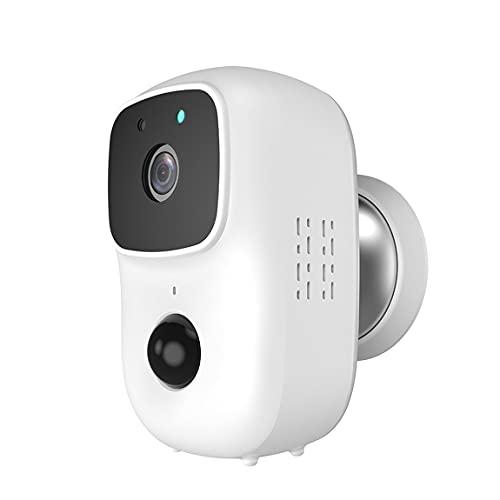 Cámara WiFi con batería para Exteriores, Seguridad inalámbrica, cámara IP, vigilancia, Resistente a la Intemperie, Alarma PIR, grabación de Audio