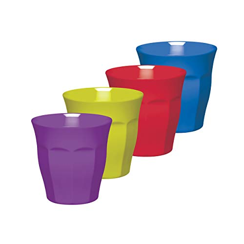 Kitchen Craft CWMTUMASSTPK4 Set Vasos 225 ml, Multicolor, 8.7x8.7x18 cm