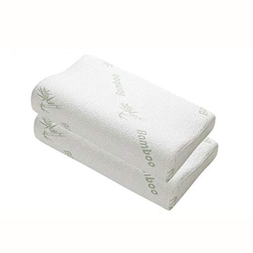Cuscini I cuscini di seduta - Bammbo Memory Foam cuscino ortopedico cuscino in lattice collo cuscini di fibra rimbalzo lento del cuscino molle for massaggi cervicale Salute confortevole Per il support