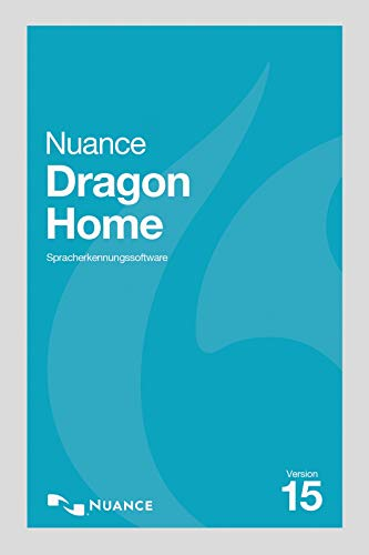 Nuance Dragon Home 15 - Vollversion | PC | PC Aktivierungscode per Email
