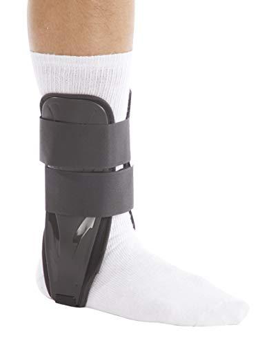 United Ortho US8811F Foam Stirrup Ankle Brace, Small, Black